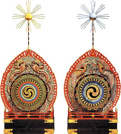 四天王寺の火焔太鼓